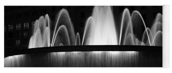 Fountain In Barcelona Yoga Mat