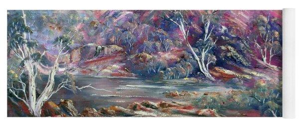Fountain Springs Outback Australia Yoga Mat