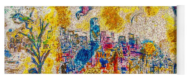 Four Seasons Chagall Yoga Mat