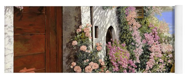 four seasons- spring in Tuscany Yoga Mat