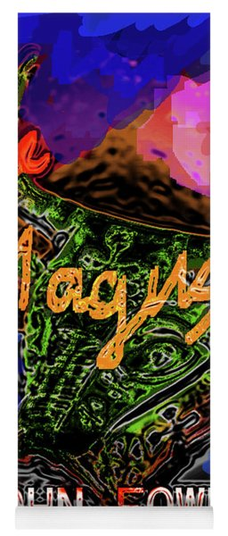 Fowles Magus Poster  Yoga Mat