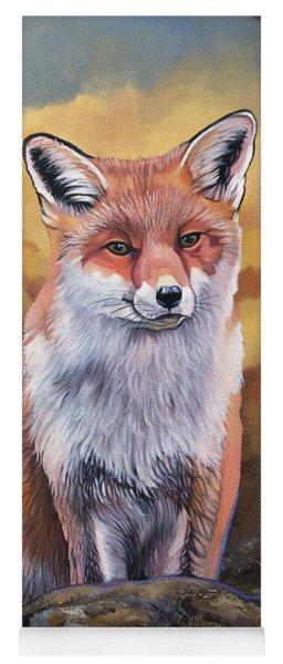 Fox Knows Yoga Mat