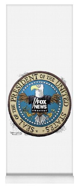 Fox News Presidential Seal Yoga Mat