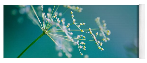 Fragile Dill Umbels Yoga Mat