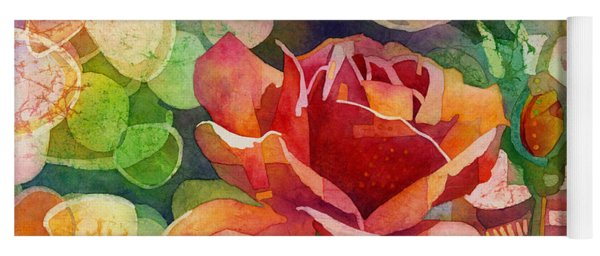 Fragrant Roses Yoga Mat