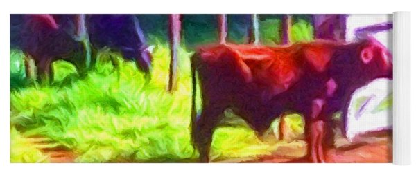 Franca Cattle 2 Yoga Mat