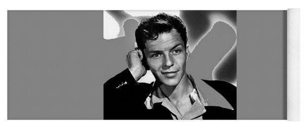 Frank Sinatra Circa 1945-2015 Yoga Mat