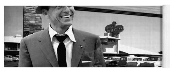 Frank Sinatra In Las Vegas Yoga Mat