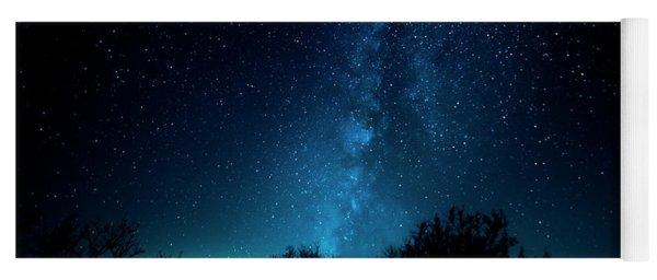 Franklin Under The Milky Way Yoga Mat