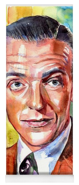 Fred Astaire Painting Yoga Mat