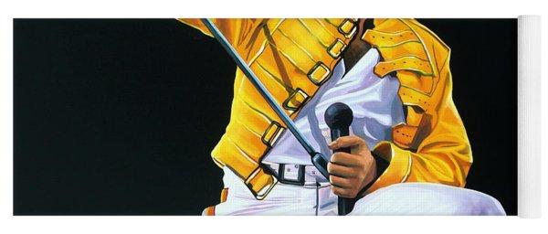Freddie Mercury Live Yoga Mat