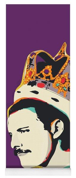 Freddie Mercury Pop Art Quote Yoga Mat