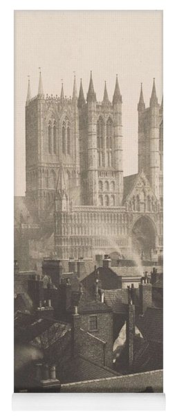 Frederick H. Evans, British, London 1853-1943 London, Lincoln Cathedral, From The Castle Yoga Mat