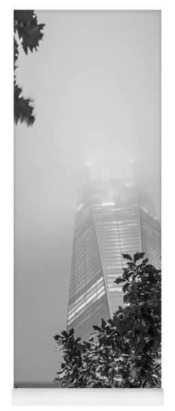 Freedom Tower In The Fog  Yoga Mat