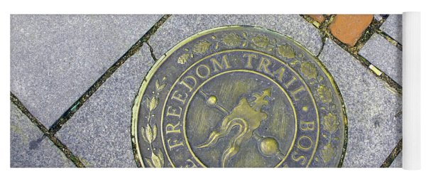 Freedom Trail Marker Yoga Mat