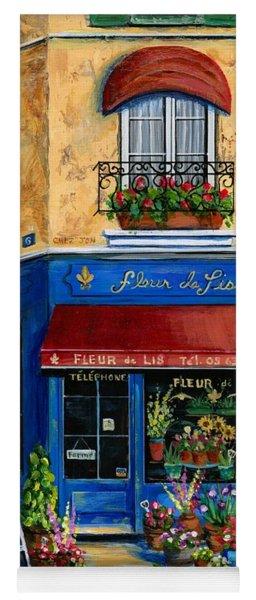 French Flower Shop Yoga Mat