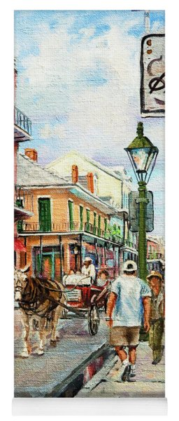 French Quarter Antiques Yoga Mat