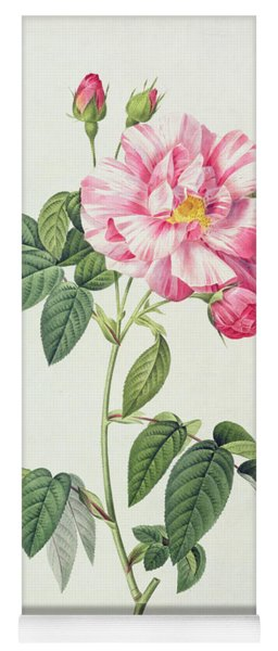 French Rose Yoga Mat