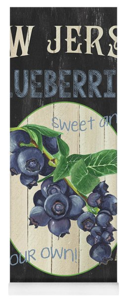 Fresh Berries 1 Yoga Mat