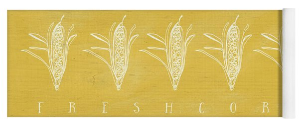 Fresh Corn- Art By Linda Woods Yoga Mat