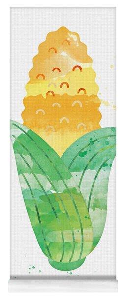 Fresh Corn Yoga Mat