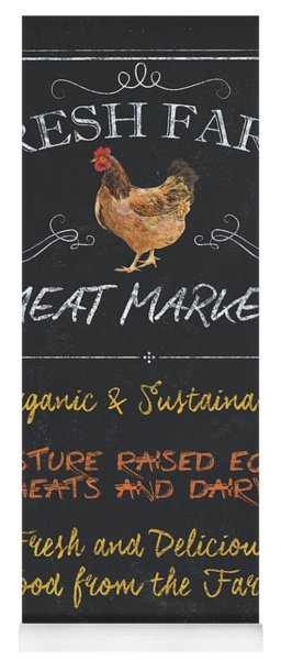 Fresh Farm Meat Yoga Mat
