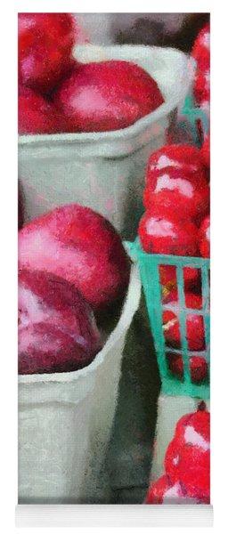 Fresh Market Fruit Yoga Mat