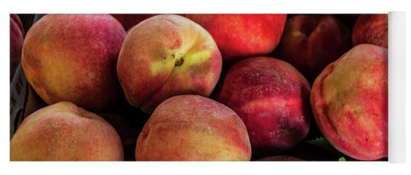 Fresh Peaches Yoga Mat