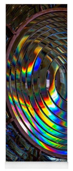 Fresnel Lens Point Arena Lighthouse Yoga Mat