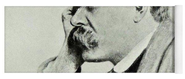 Friedrich Nietzsche, 1912 Yoga Mat