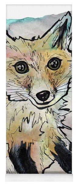 Friendly Fox Yoga Mat