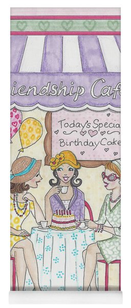 Friendship Cafe Yoga Mat