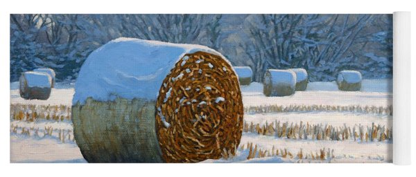 Frigid Morning Bales Yoga Mat
