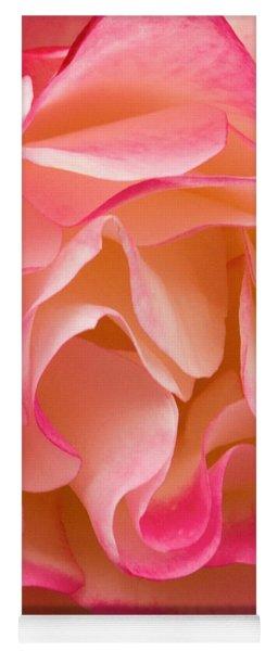Frills Of A Rose Yoga Mat