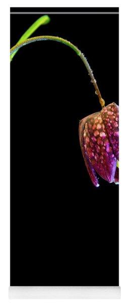 Fritillaria Meleagris, Snakes Head Fritillary Yoga Mat