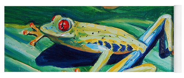 Frog Yoga Mat