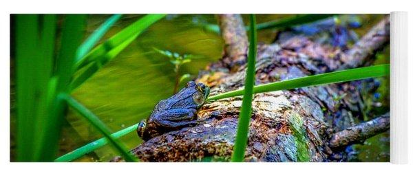 Frog On A Log 1 Yoga Mat