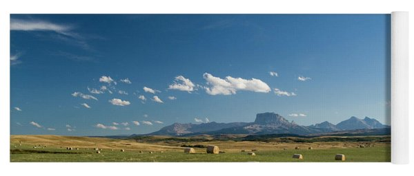 From The Prairie To The Rockies Yoga Mat