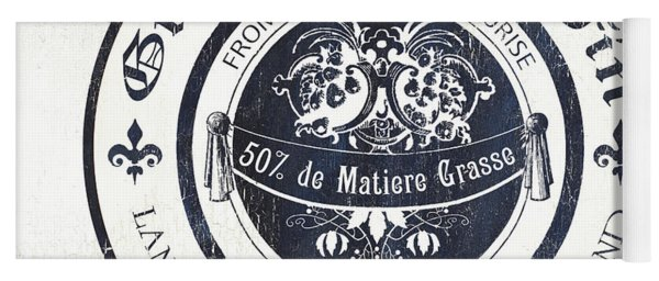 Fromage Label 2 Yoga Mat