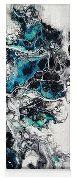Frost And Ice Yoga Mat