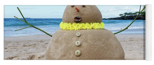 Frosty The Sandman Yoga Mat