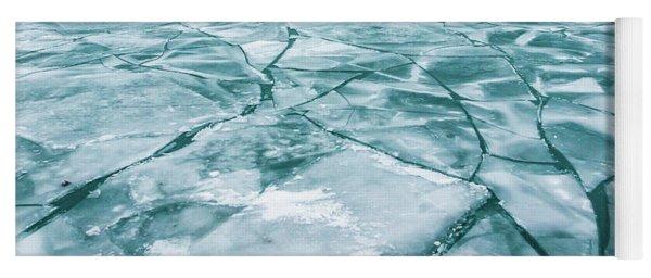Frozen Lake Yoga Mat