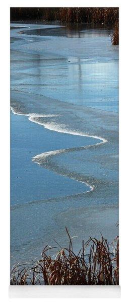 Frozen Waves Yoga Mat