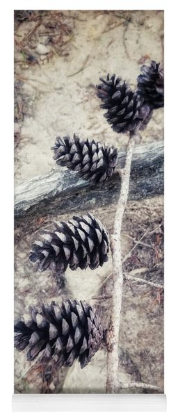 Fruit Of The Pine Yoga Mat