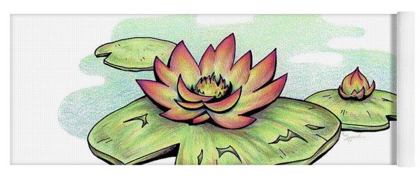 Fruit Of The Spirit Series 2 Gentleness Yoga Mat