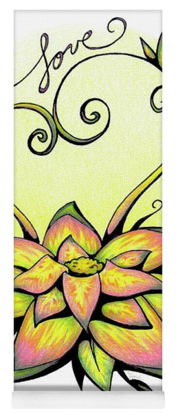 Fruit Of The Spirit Series 2 Love Yoga Mat