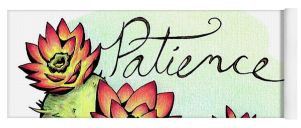 Fruit Of The Spirit Series 2 Patience Yoga Mat