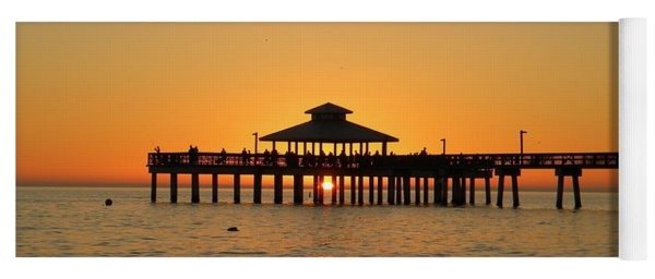 Ft. Myers Pier Yoga Mat
