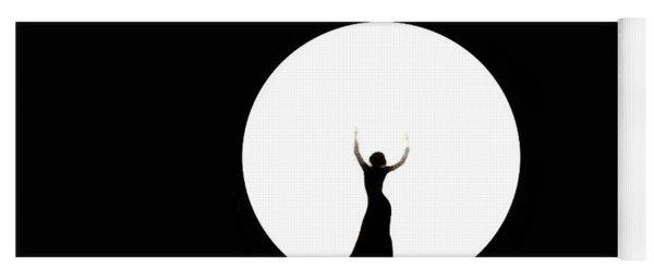 Full Moon Dance Yoga Mat