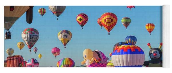 Funky Balloons Yoga Mat